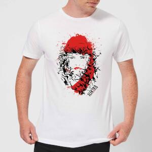 T-Shirt Homme Elektra la Mort dans les Yeux - Marvel Knights - Blanc