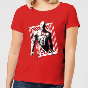 Marvel Knights Daredevil Cage Dames T-shirt - Rood