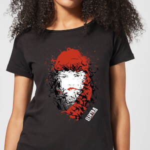 T-Shirt Femme Elektra la Mort dans les Yeux - Marvel Knights - Noir