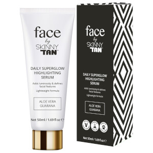 Сыворотка-хайлайтер Face by Skinny Tan Superglow Highlighting Serum 50 мл
