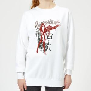 Marvel Knights Elektra Assassin Women's Sweatshirt - White