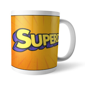 Fathers Day Superdad Mug