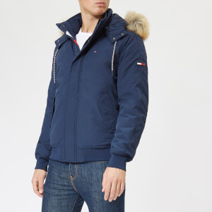 Tommy Jeans Men's TJM Technical Bomber Coat - Navy