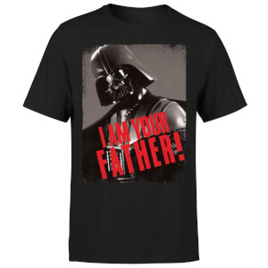 Star Wars Darth Vader I Am Your Father Gripping Men's T-Shirt - Black