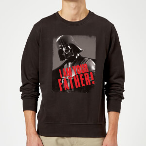 Star Wars Darth Vader I Am Your Father Gripping Sweatshirt - Black