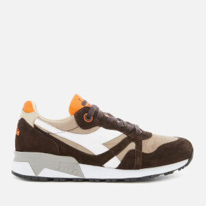 Diadora Men's Heritage N9000 Trainers - Brown Earth