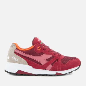 Diadora Men's N9000 111 Trainers - Biking Red/Slate Rose