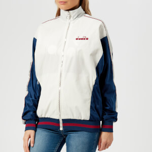 Diadora Women's L. La Belle Track Jacket - Estate Blue/Anemone/Marshmallow