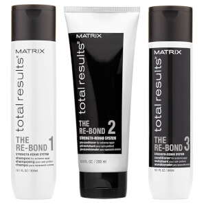 Matrix Total Results trio di prodotti Re-Bond