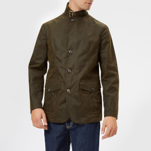 Barbour Heritage Men's Lutx Wax Jacket - Olive