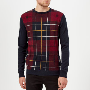 Barbour Men's Coldwater Crew Knitted Jumper - Navy