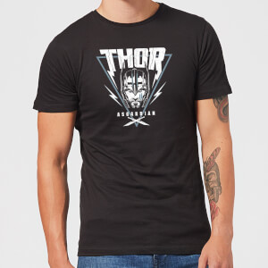 Marvel Thor Ragnarok Asgardian Triangle Men's T-Shirt - Black