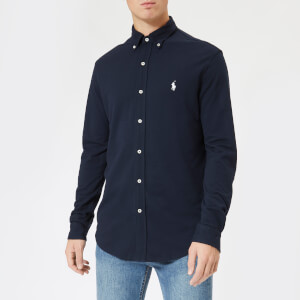 Polo Ralph Lauren Men's Featherweight Mesh Shirt - Aviator Navy