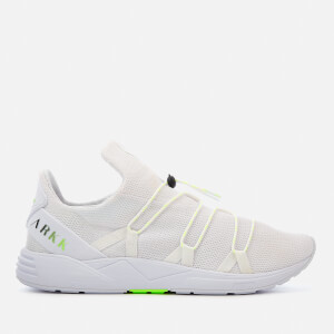 ARKK Copenhagen Men's Scorpitex Mesh Trainers - White/Luminous Green