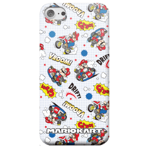 Coque Smartphone Nintendo Mario Kart Comics en Couleur - iPhone & Android