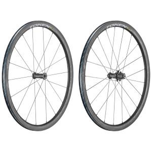 Token Ventous Zenith Carbon Tubeless Ready Wheelset - Shimano