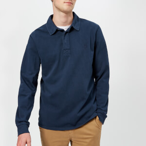 Joules Men's Parkside Rugby Shirt - French Navy