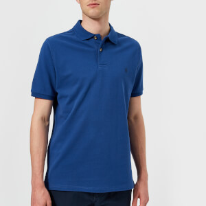 Joules Men's Woody Classic Fit Polo Shirt - Dark Blue
