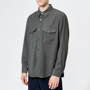 Our Legacy Men's CPO Long Sleeve Shirt - Grey
