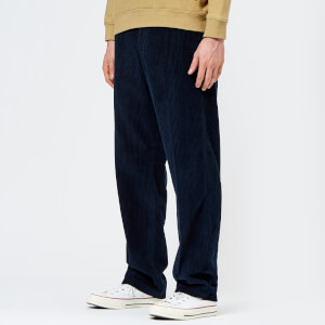 Our Legacy Men's Chino 22 Corduroy Trousers - Navy