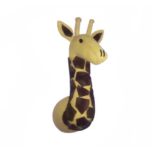 Fiona Walker England Mini Giraffe Wall Hanging Head
