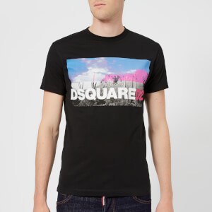 Dsquared2 Men's Dan Fit Logo T-Shirt - White