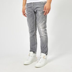 Dsquared2 Men's Skater Jeans - Light Grey