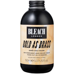 Crema de color semipermanente para el cabello Bold As Brass Super Cool Colour de BLEACH LONDON 150 ml