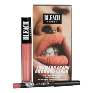 BLEACH LONDON Lip Kit Awkward Peach