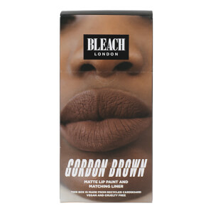 Kit de Lábios Gordon Brown da BLEACH LONDON