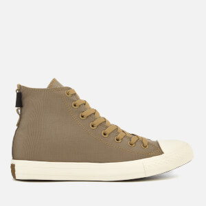 Converse Men's Chuck Taylor All Star Cordura Hi-Top Trainers - Teak/Egret/Brown