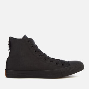 Converse Men's Chuck Taylor All Star Cordura Hi-Top Trainers - Black/Brown