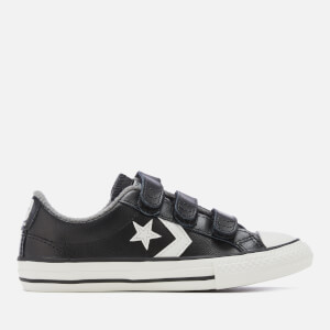 Converse Kids' Star Player 3V Ox Trainers - Black/Mason/Vintage White