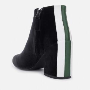 Senso Women's Jensen IV Velvet Heeled Ankle Boots - Ebony: Image 2
