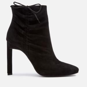 Senso Women's Wayne II Suede Heeled Shoe Boots - Ebony