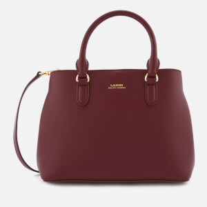 Lauren Ralph Lauren Women's Marcy II Mini Satchel - Merlot/Rose Smoke