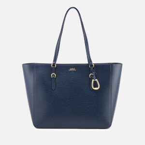 Lauren Ralph Lauren Women's Bennington Medium Tote Bag - Navy