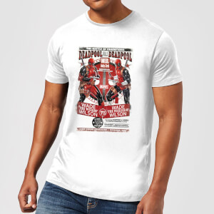 Marvel Deadpool Kills Deadpool Men's T-Shirt - White