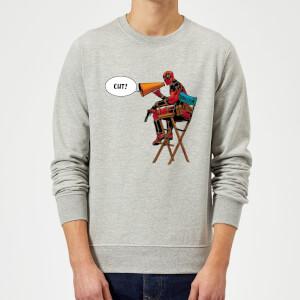 Marvel Deadpool Director Cut Sweatshirt - Grey