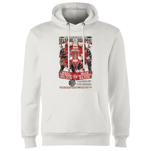 Marvel Deadpool Kills Deadpool Hoodie - White