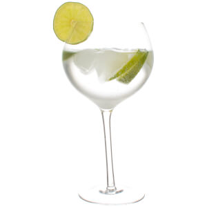 Tipsy Gin Glasses - 2 Pack