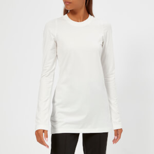 Y-3 Women's Prime Long Sleeve T-Shirt - Core White