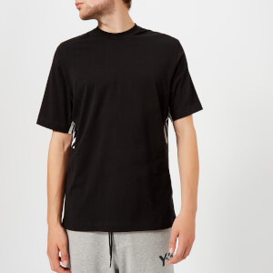 Y-3 Men's 3-Stripes Short Sleeve T-Shirt - Black/Core White