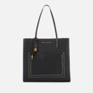 Marc Jacobs Women's Grind T Pocket Tote Bag - Black/Dark Cherry