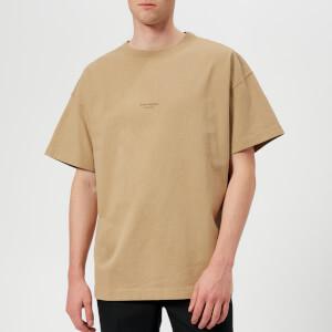 Acne Studios Men's Jaxon Oversized T-Shirt - Sand Beige