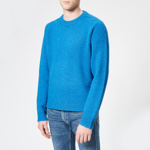 Acne Studios Men's Kai Crew Neck Jumper - Blue