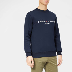 Tommy Hilfiger Men's Logo Sweatshirt - Sky Captain