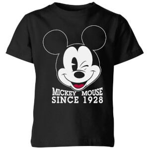 Disney Since 1928 Kids' T-Shirt - Black