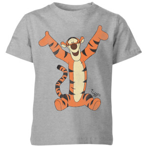 T-Shirt Enfant Disney Tigrou Winnie l'ourson - Gris