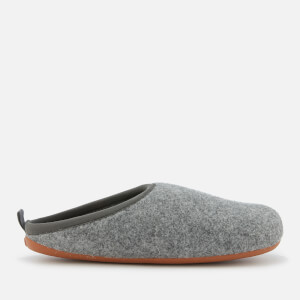 Camper Men's Wabi Wool Slippers - Light Pastel Grey